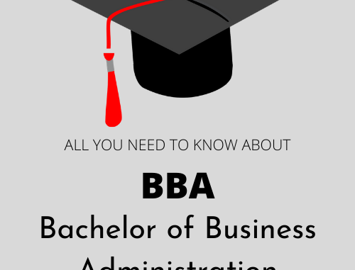 BBA - Bacherlor of Business Administration