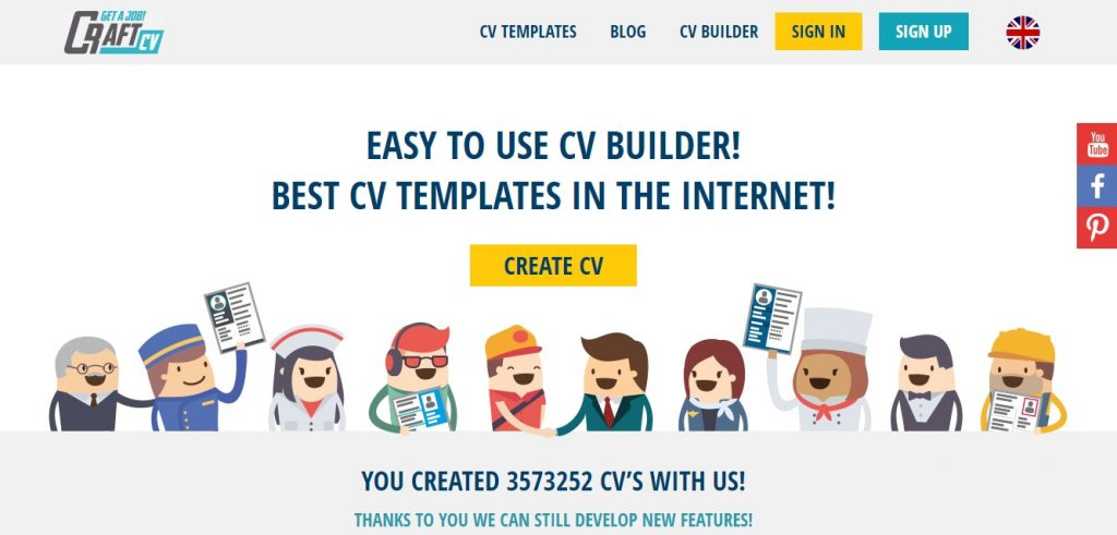How to Create a Professional CV free