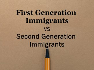 What is 1st First Generation Immigrants vs Second Generation Immigrants